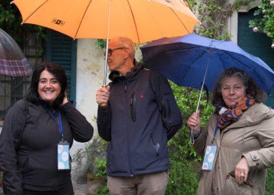 Associazione per MITO Onlus: cortile di Villa De Ponti