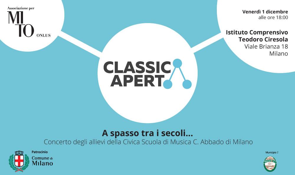 1 dicembre 2017 – Concerto Istituto Ciresola