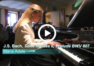 Video: Maria Adele Zampa – J.S. Bach, Suite Inglese II, Prelude BWV 807