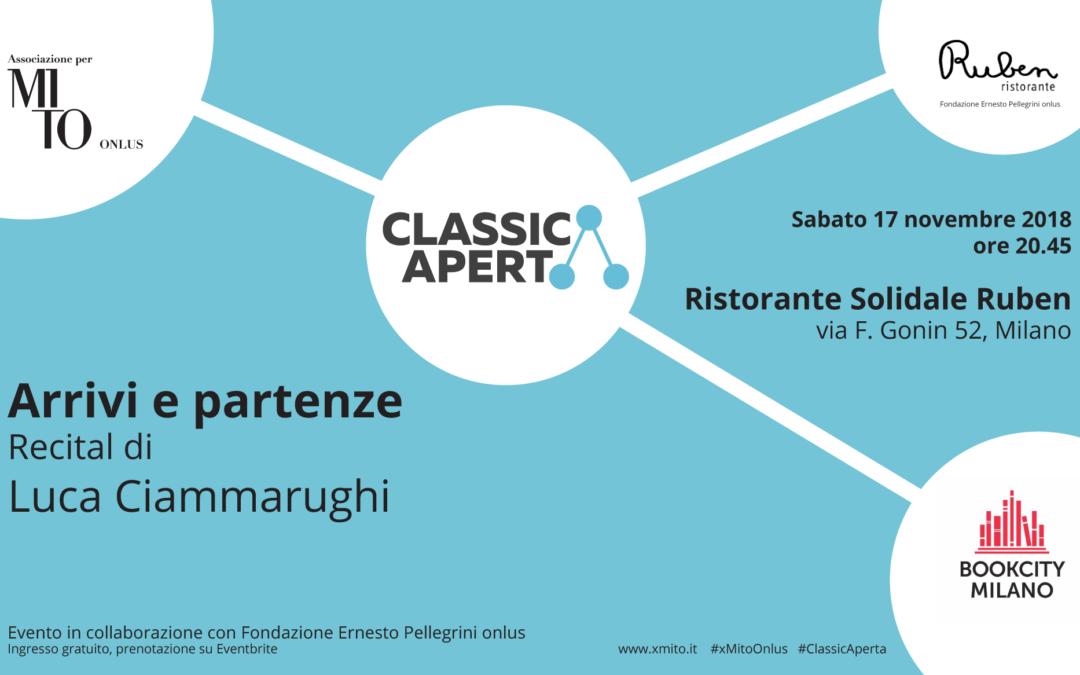 ClassicAperta torna a Bookcity con Luca Ciammarughi