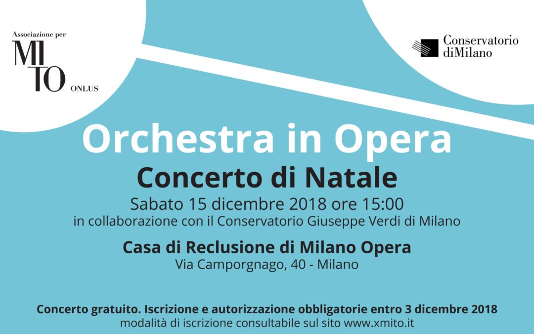 Concerto di Natale Orchestra in Opera