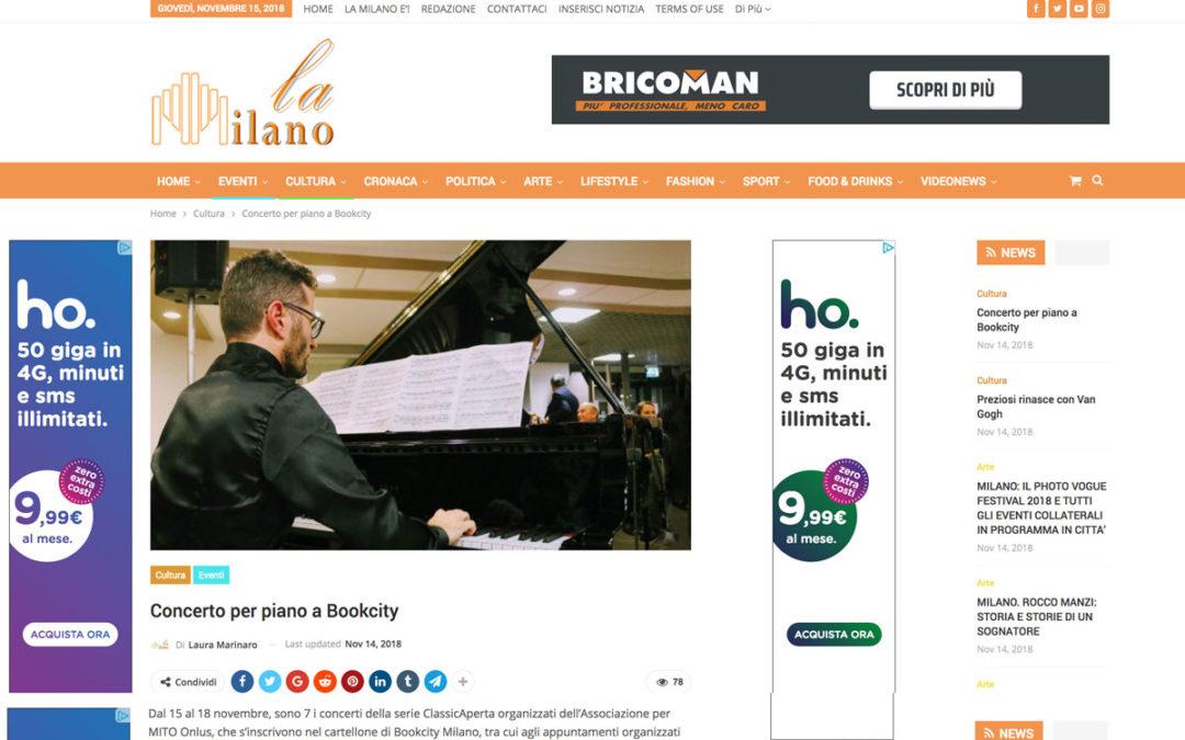 ClassicAperta: La Milano – Concerto per piano a Bookcity
