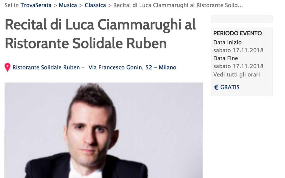 ClassicAperta: Repubblica – Recital Luca Ciammarughi
