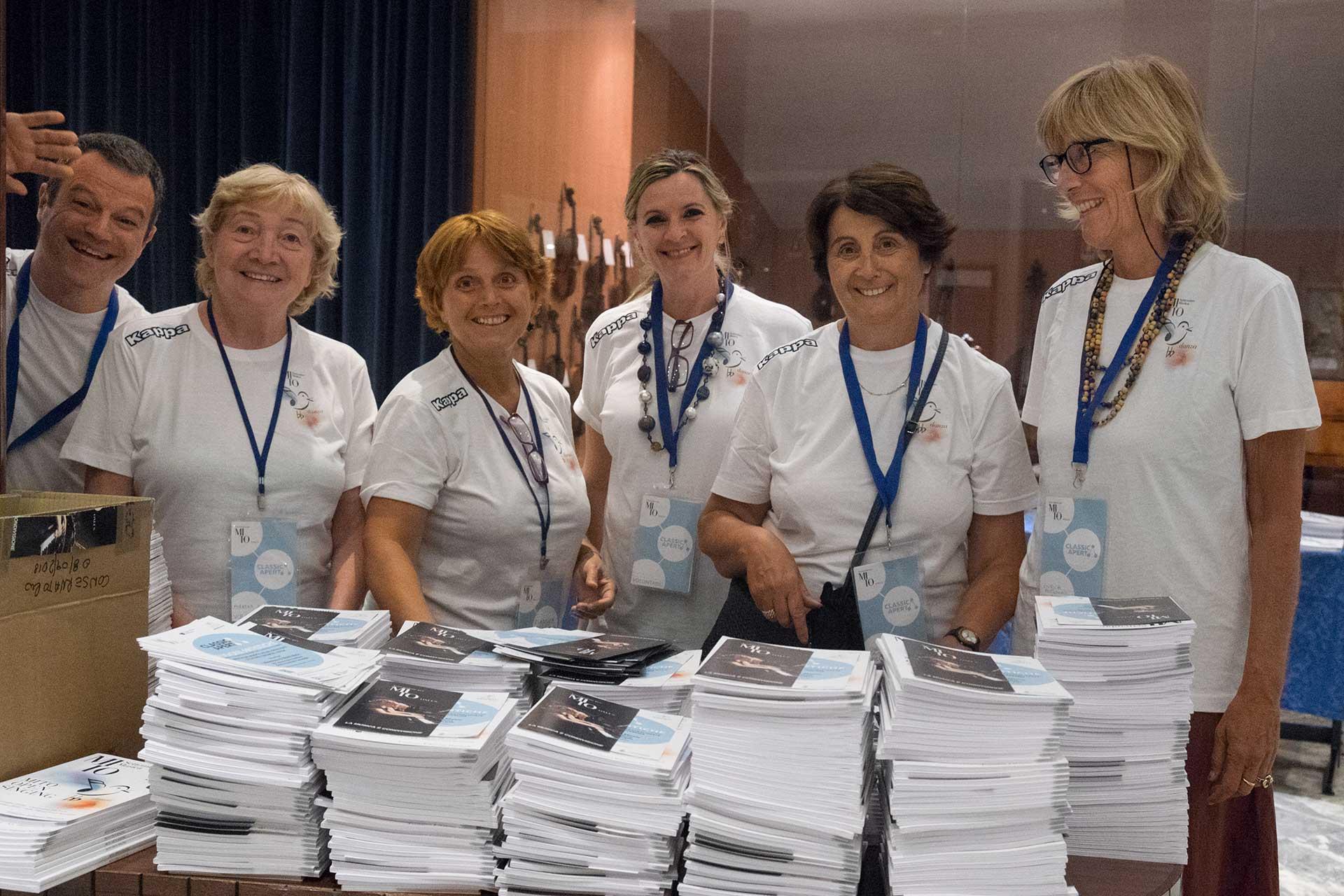 Associazione per MITO Onlus: i volontari