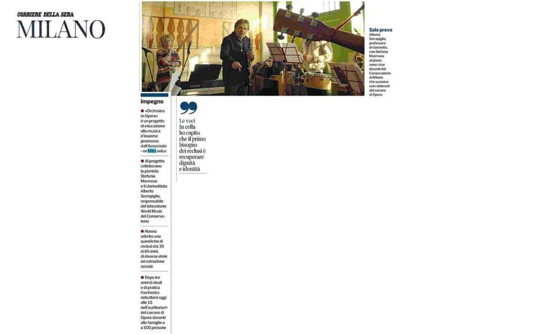 Associazione per MITO Onlus: Orchestra in Opera - rassegna stampa