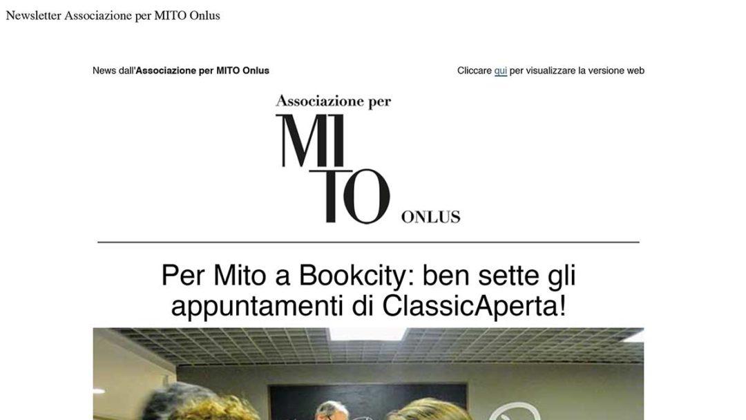 Newsletter Associazione per MITO Onlus