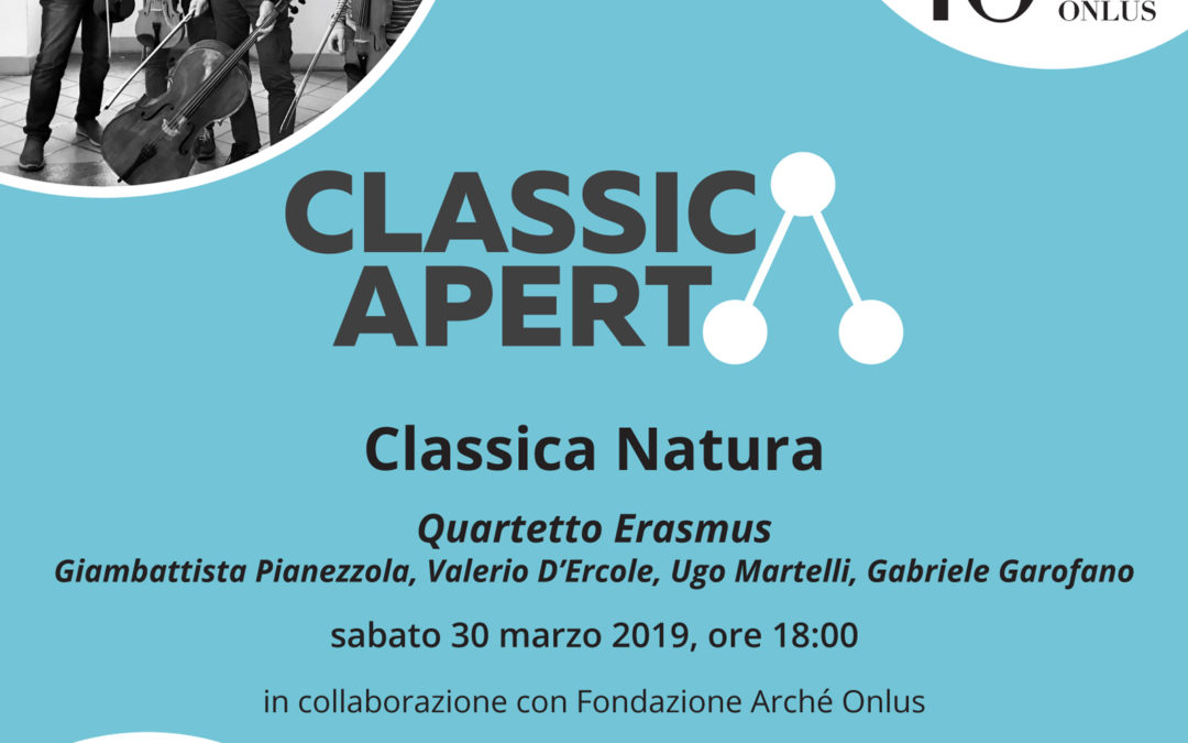 Invito: Quartetto Erasmus in Classica Natura