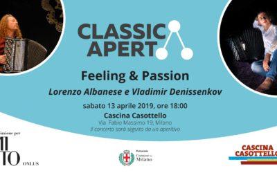 Invito: Feeling & Passion – Lorenzo Albanese e Vladimir Denissenkov