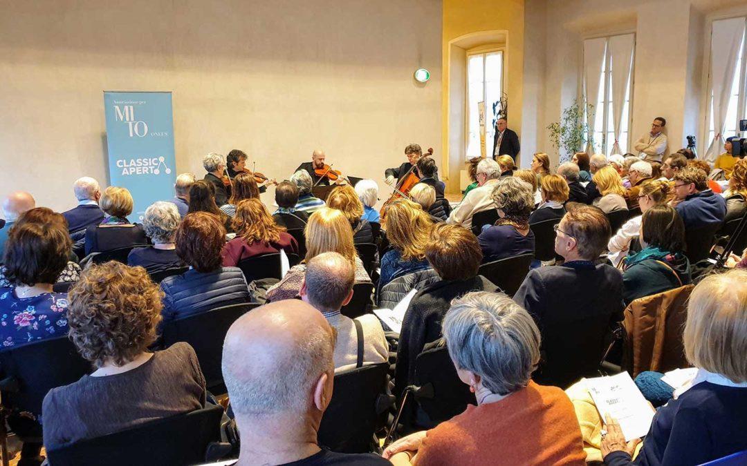 Classica Natura – concerto Quartetto Erasmus a Villa Scheibler