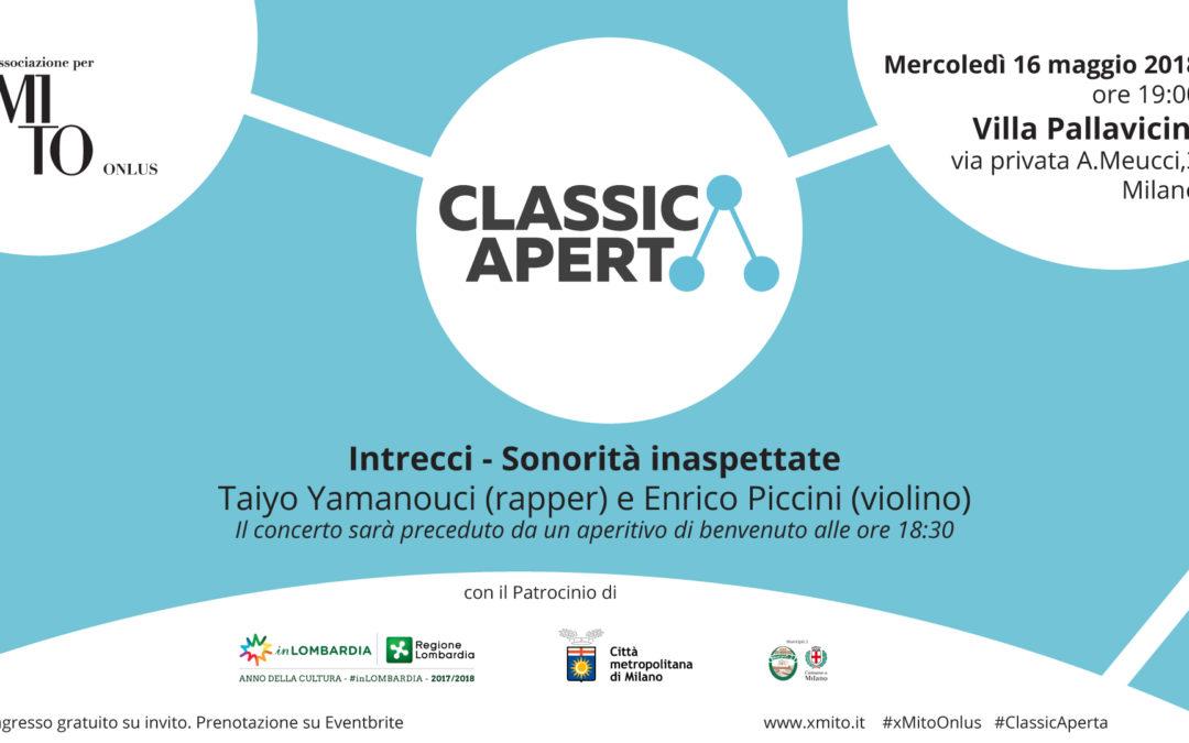 Sonorità inaspettate: Taiyo Yamanouci (rapper) e Enrico Piccini (violino)