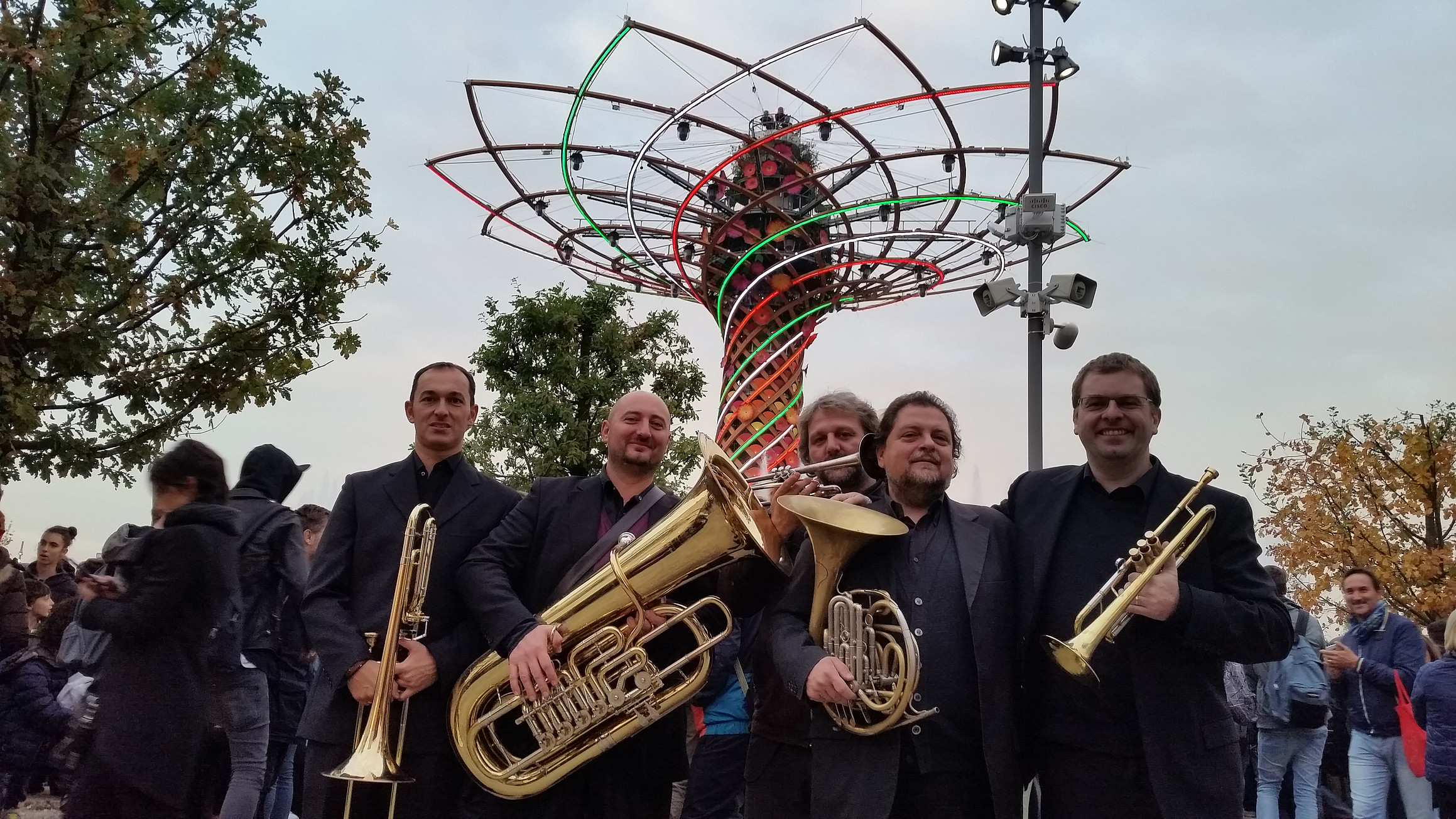 Milano Luster Brass all'Expo2015