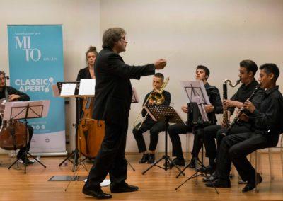 Concerto degli allievi del Conservatorio di Milano per ClassicAperta presso l'auditorium della Casa della Carità