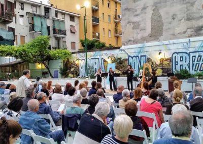 Concerto degli allievi del Conservatorio di Milano per ClassicAperta presso il Circolo e Bocciofila Romeo Cerizza