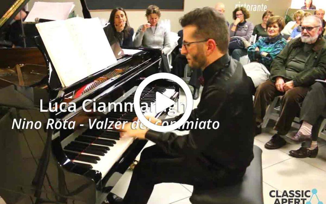 Video: Luca Ciammarughi: Nino Rota – Valzer del commiato (da: Il Gattopardo)