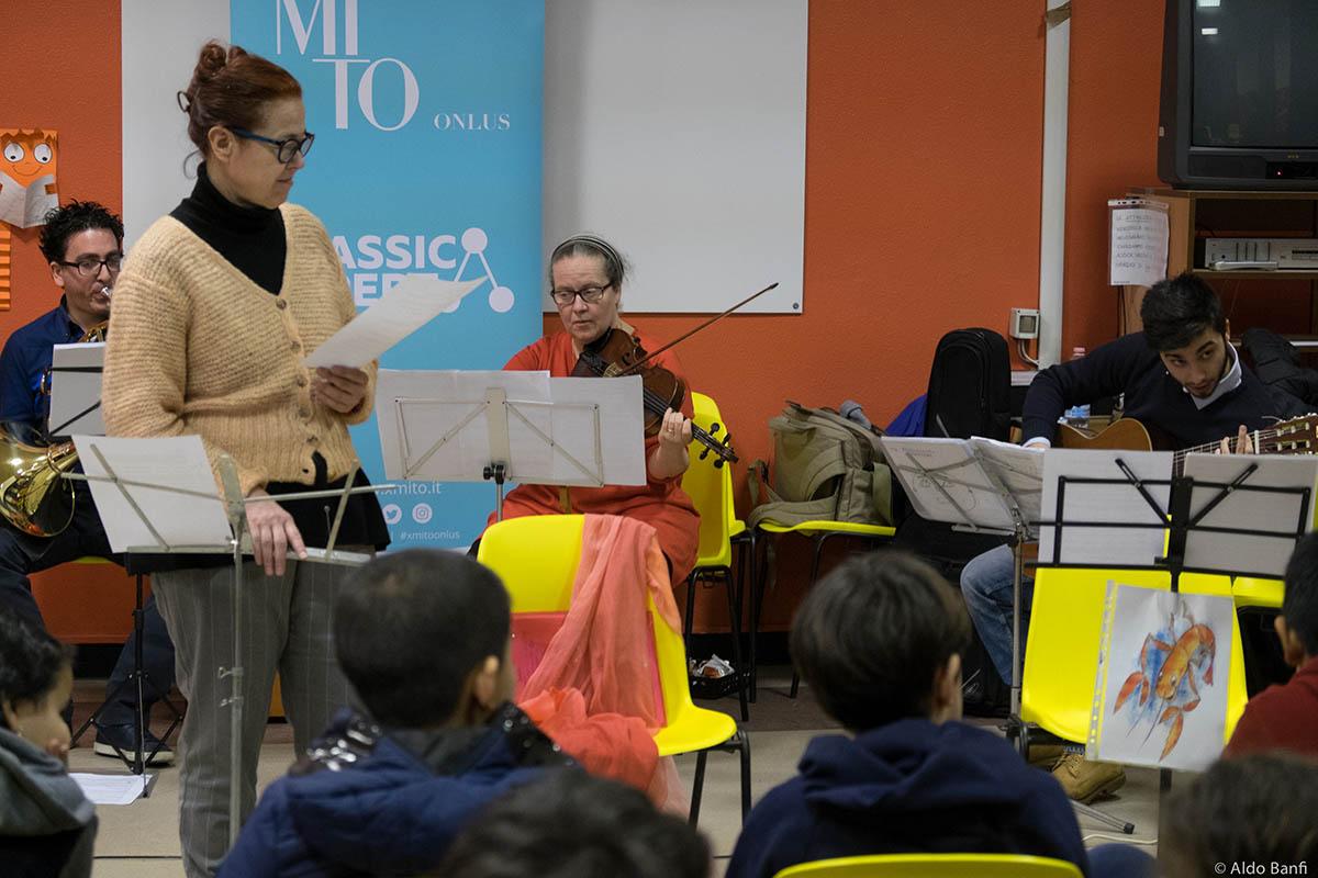 Associazione per MITO Onlus: ClassicAperta - Progetto Scuole