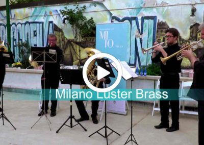 Video: Ottoni di ringhiera: Milano Luster Brass in concerto