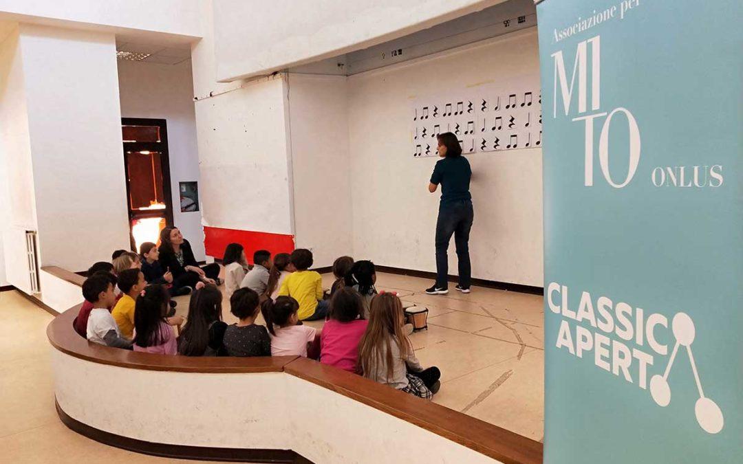 ClassicAperta per le scuole – EMA: Facciamo Musica!