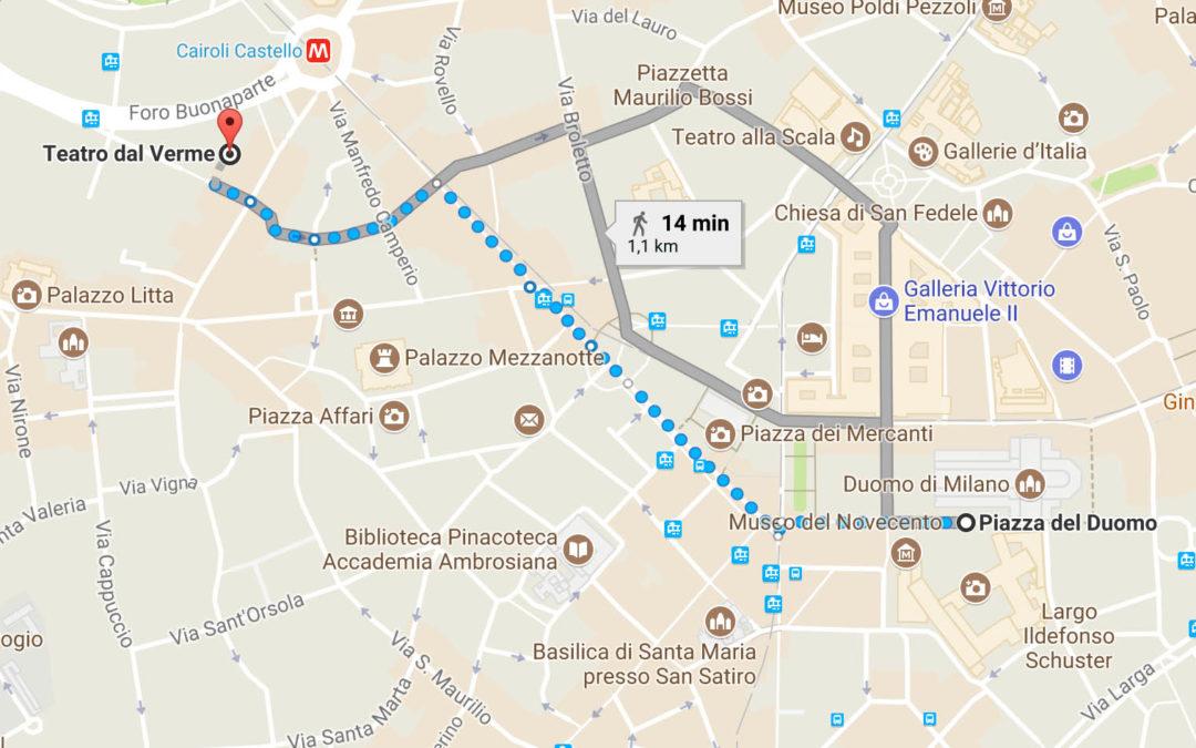 Comunicazione importante: I cori dal Duomo al Teatro Dal Verme