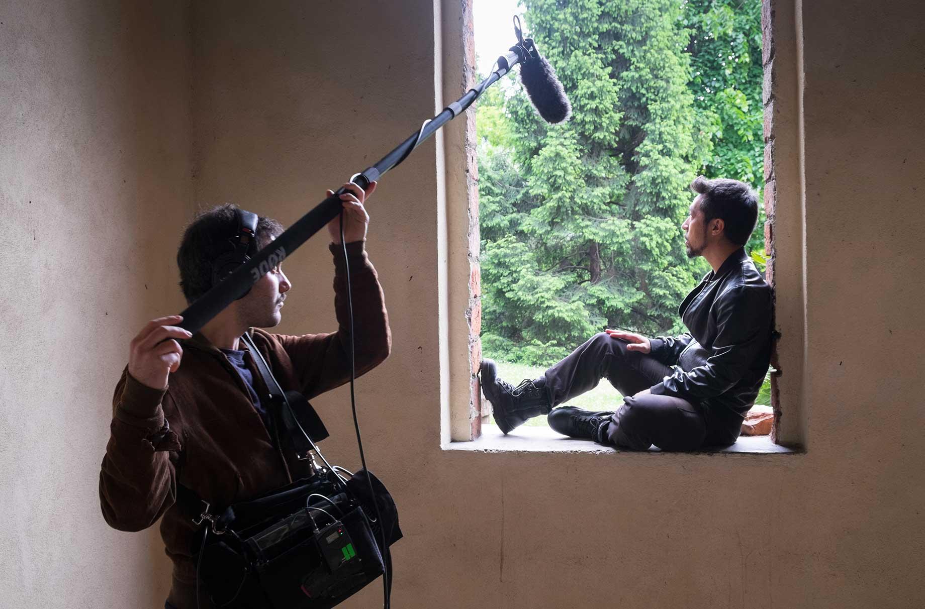 Backstage video Taiyo Yamanouchi aka HYST e Nicola Di Benedetto