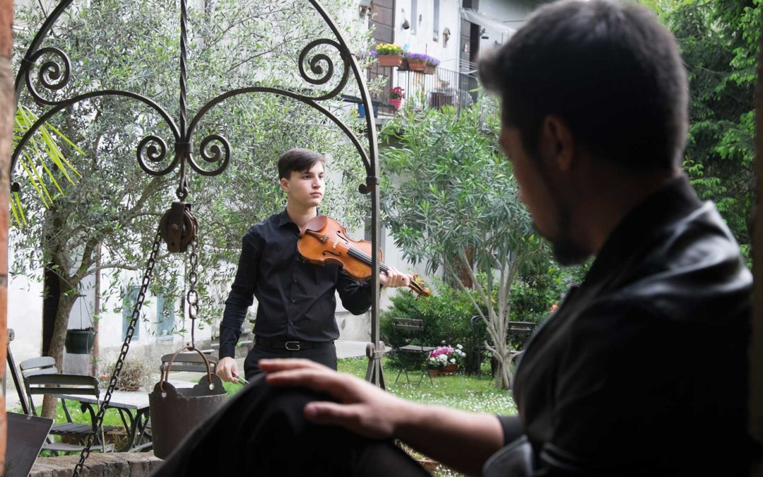 Backstage video di Taiyo Yamanouchi aka HYST e Nicola Di Benedetto per ClassicAperta
