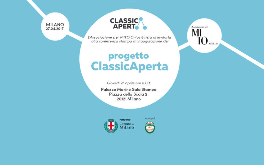 Conferenza stampa ClassicAperta