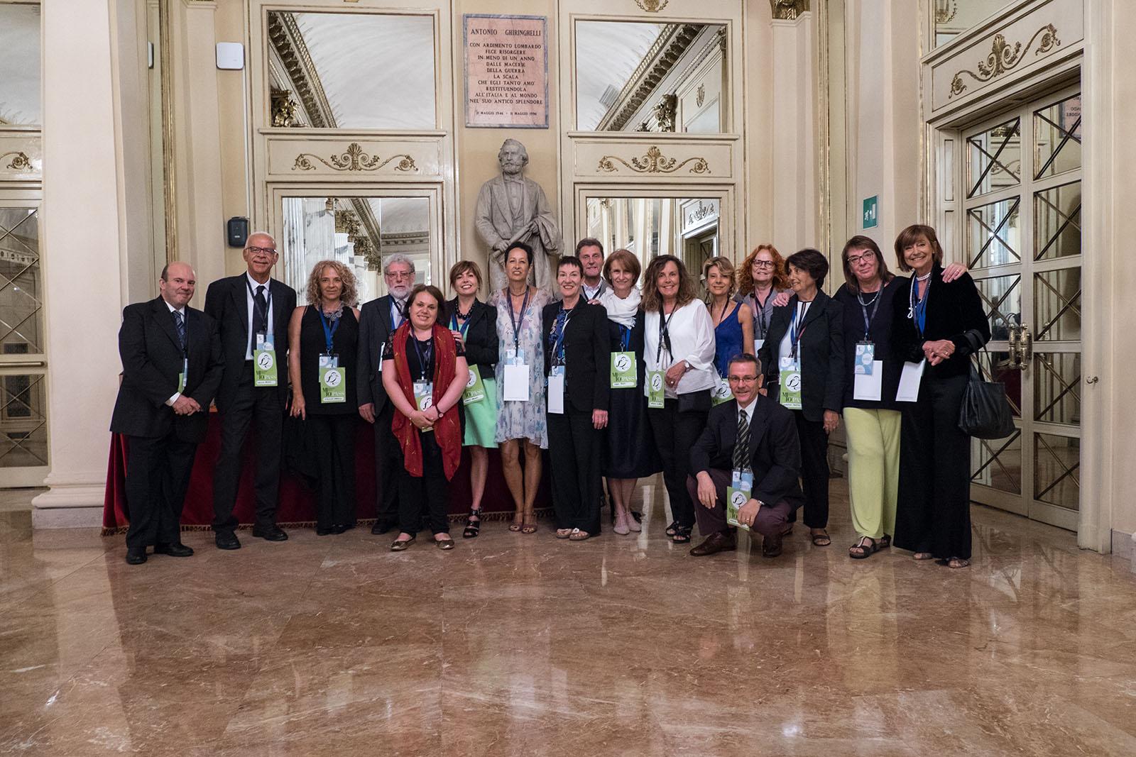 Alcuni dei volontari che hanno contribuito al successo del festival MITO SettembreMusica 2017