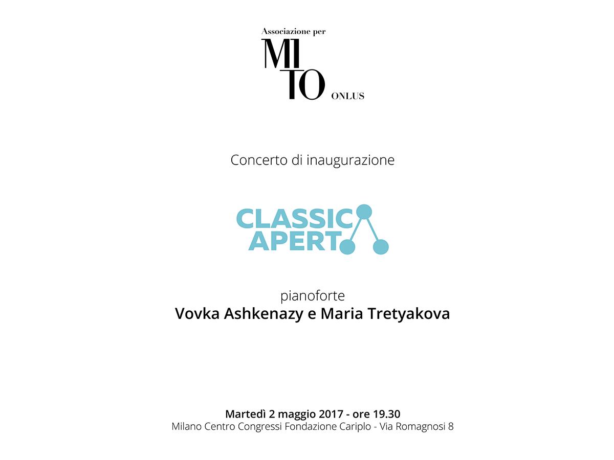 programma di sala concerto ClassicAperta 2017-05-02