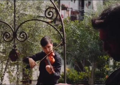 Video indedito di Taiyo Yamanouchi aka HYST e Nicola Di Benedetto per ClassicAperta