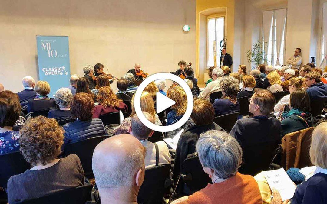 Video: Classica Natura – concerto Quartetto Erasmus a Villa Scheibler