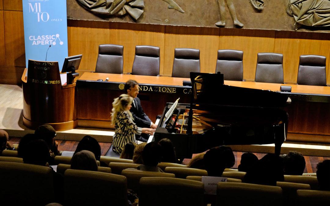 Le foto del primo concerto di ClassicAperta: Maria Tretyakova e Vovka Ashkenazy