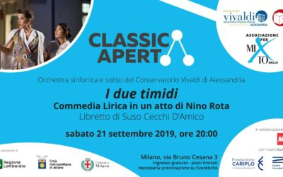 Invito ClassicAperta: I due timidi
