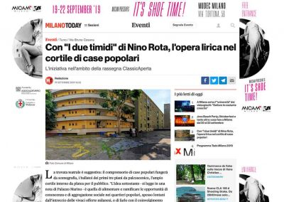 MilanoToday – I due timidi