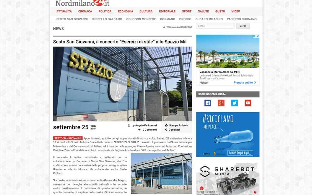 MilanoNord24 – Esercizi di Stile