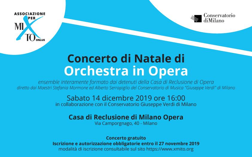 Concerto di Natale di Orchestra in Opera