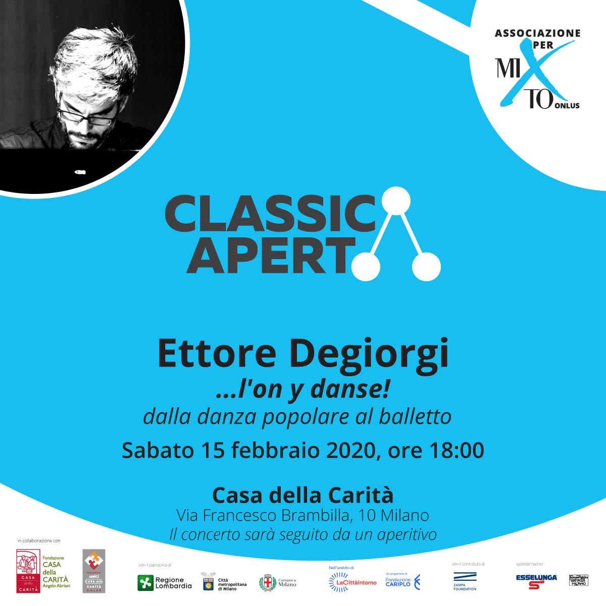 ClassicaAperta torna a Bookcity con Luca Ciammarughi