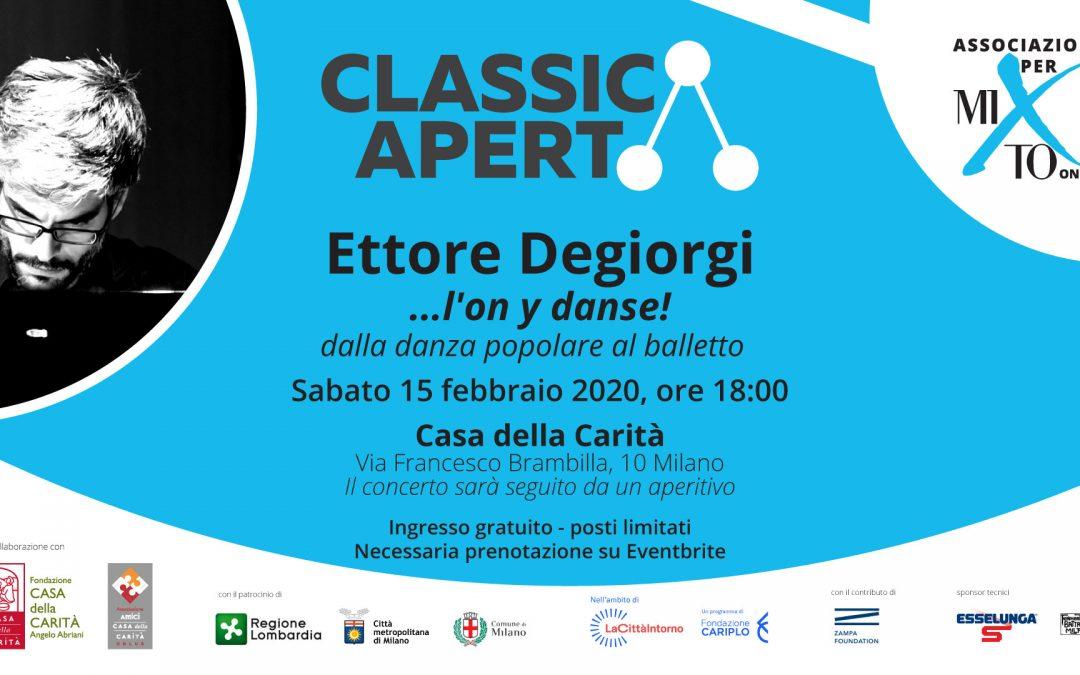 Ettore Degiorgi: …l'on y danse!
