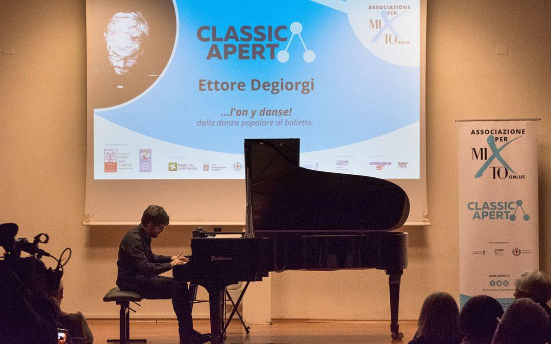 """Ettore Degiorgi: """"…l'on y danse!"""" dalla danza popolare al balletto"""