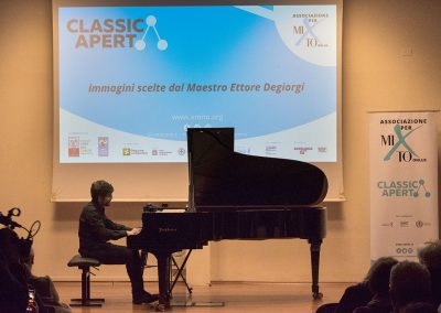 ClassicAperta: Ettore Degiorgi