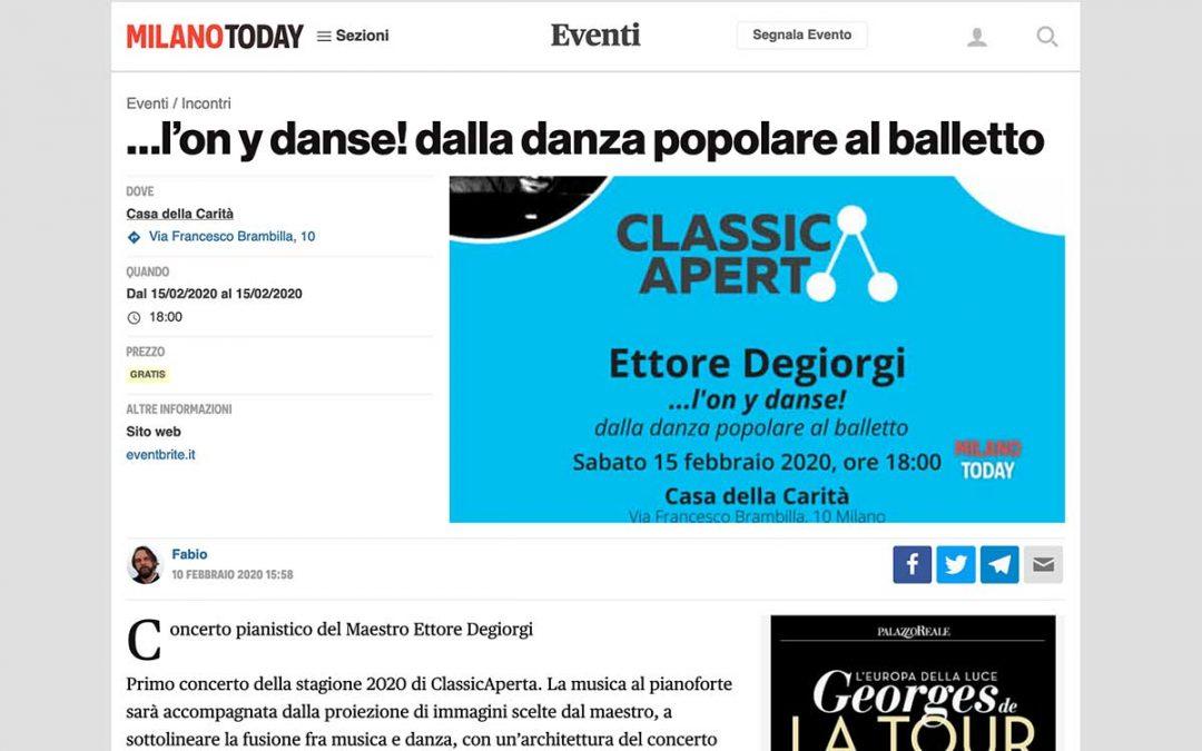MilanoToday: Ettore Degiorgi