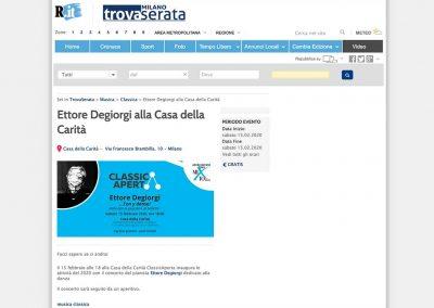 Repubblica Trovaserata: Ettore Degiorgi