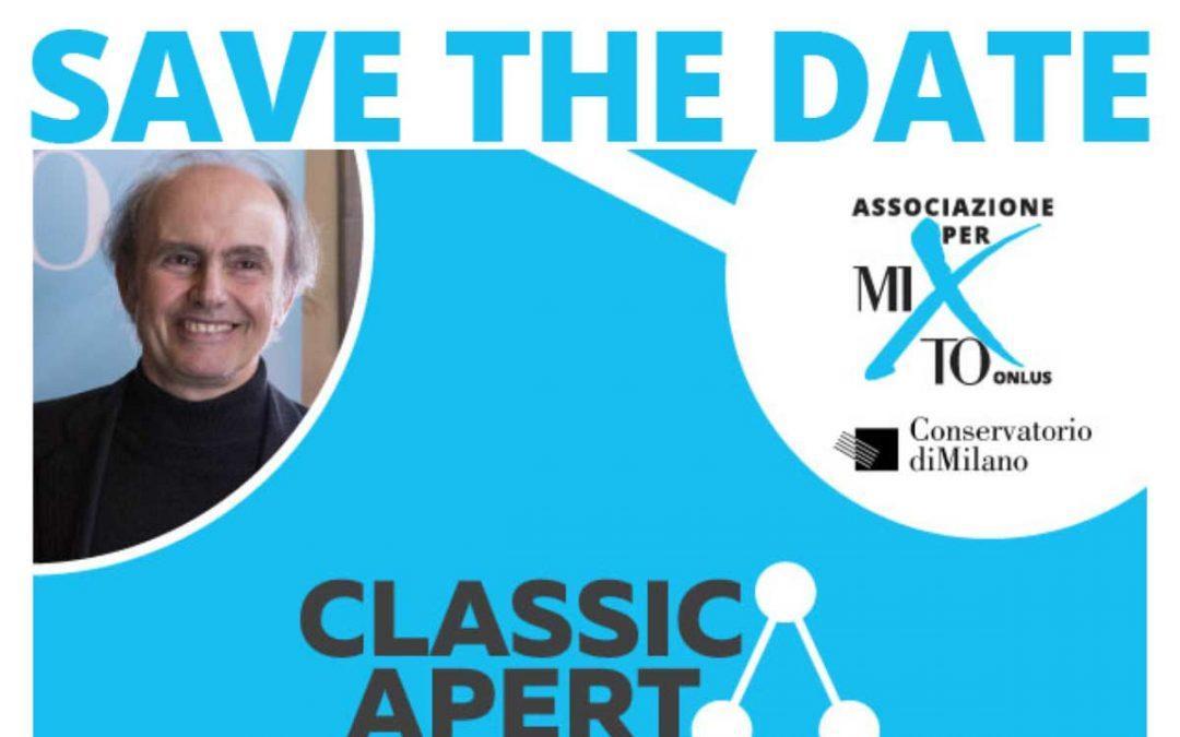 2019-09-19 – Invito ClassicAperta – Ruggero Laganà: Esercizi di Stile