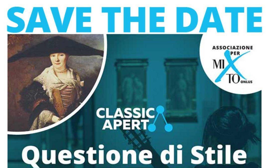 2019-10-02 – Invito ClassicAperta – Questione di Stile: Capelli e Cappelli