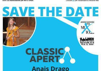 2019-10-18 – Invito ClassicAperta – Anais Drago: Solo Project