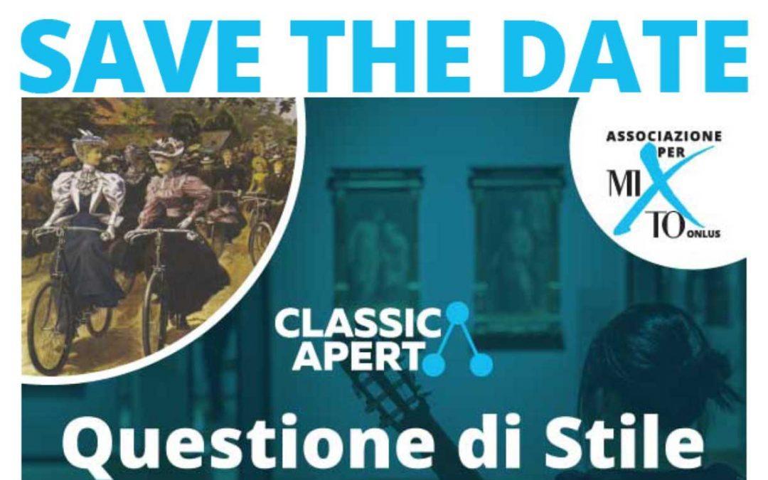 2019-10-25 Invito ClassicAperta – Questione di Stile: Pantaloni o gonne