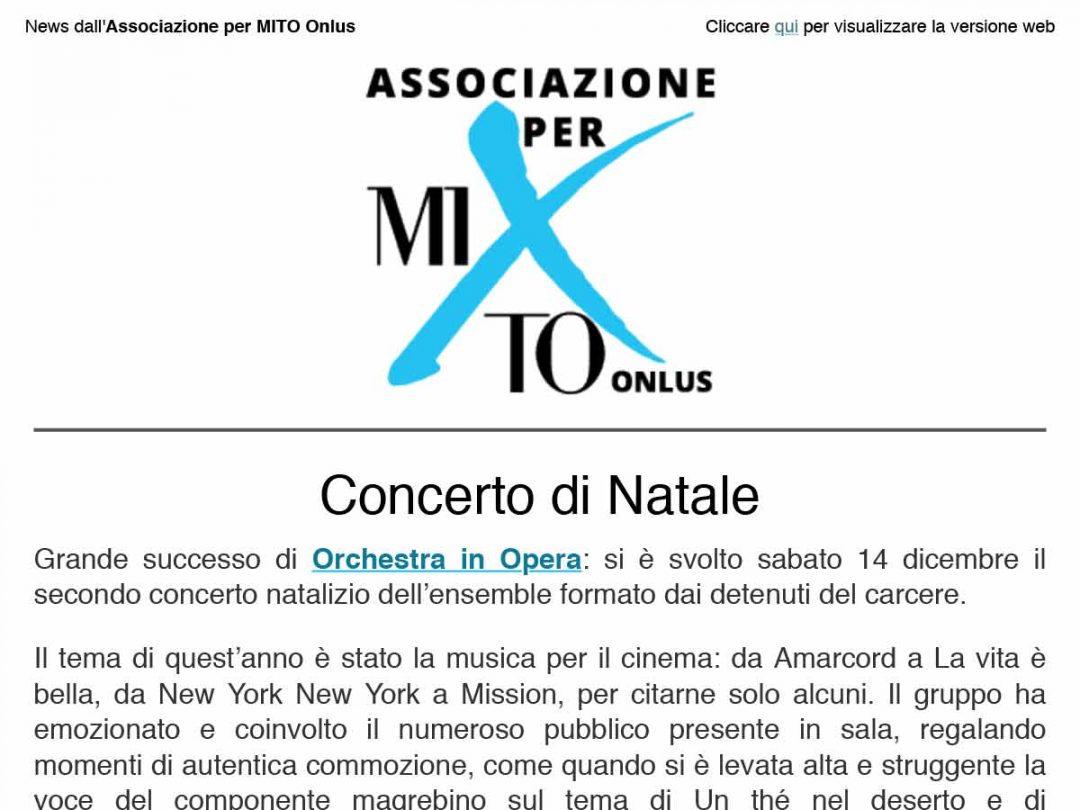 2019-12-19 Newsletter Associazione per MITO Onlus