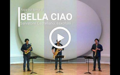 """Tre sassofoni per """"Bella Ciao"""""""