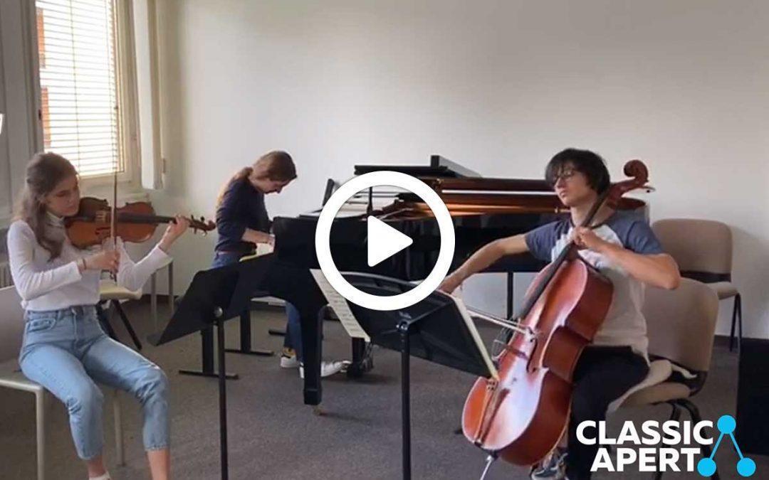 Video: Trio Nešto – prove del concerto Rapsodia