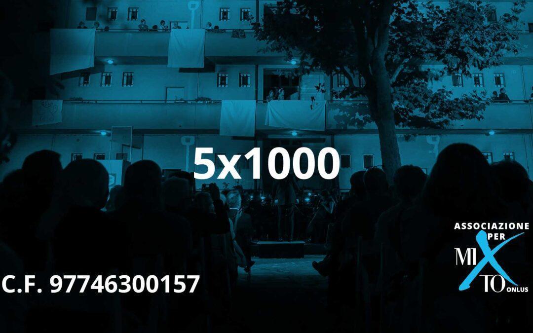 5×1000 all'Associazione per MITO Onlus