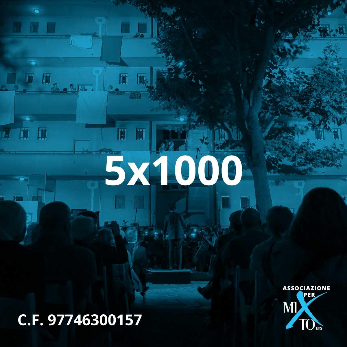 5x1000 Associazione per MITO ETS