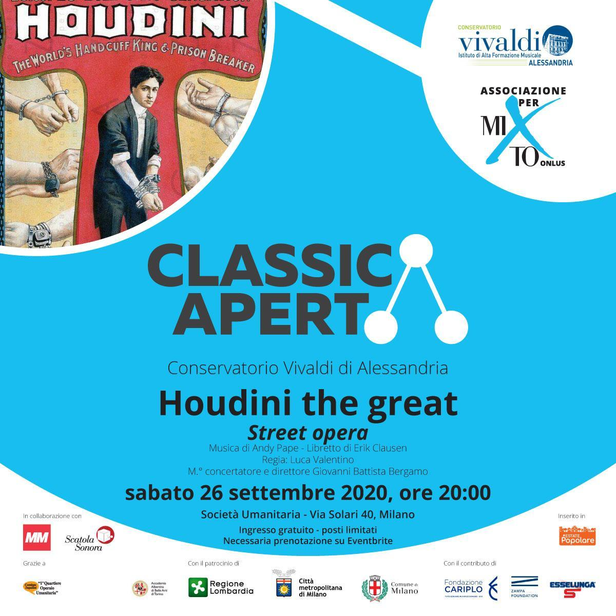 Houdini the great - Street opera